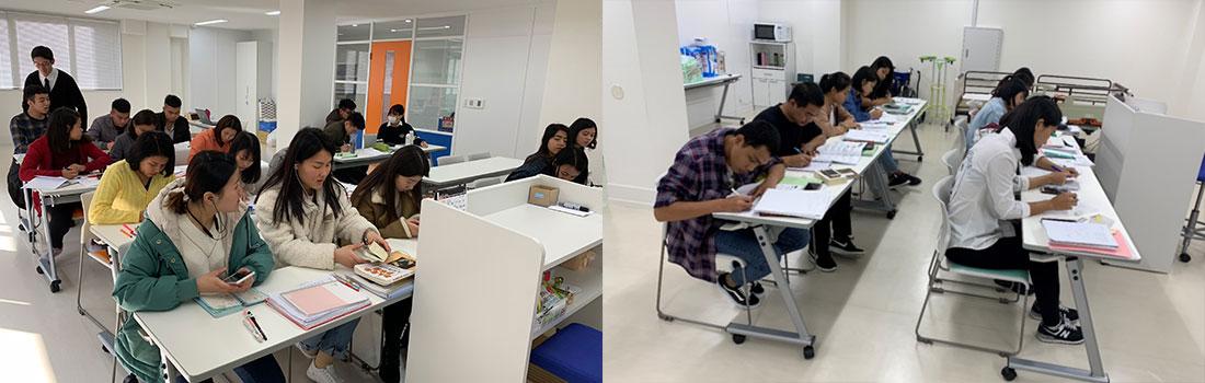日本語講習・法的保護講習・検定試験