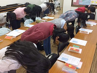 日本語 マナー講習2